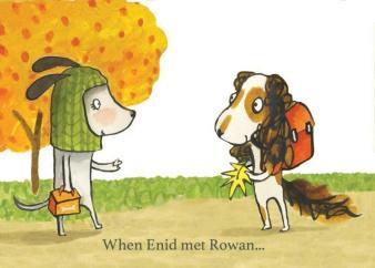 Enid & Rowan white