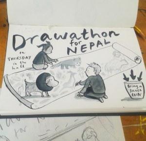 drawathon leaflet