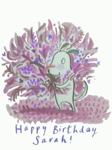 purple birthday