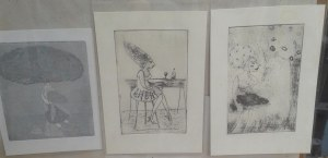 studio sale etchings