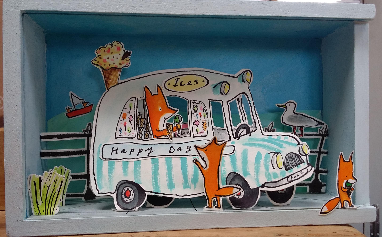 ice cream van box